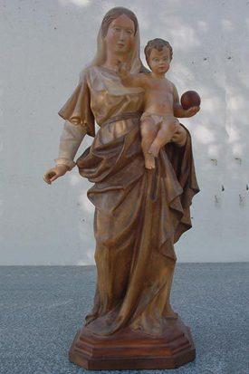 esculturas en madera de Arganda del Rey